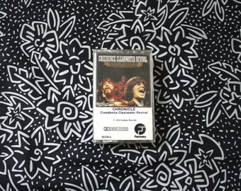 Creedence Clearwater Revival - Chronicle Cassette Tape. Vintage Rock N Roll Music Collectible. 70s Blues Rock Tape. Best Of Creedence. CCR
