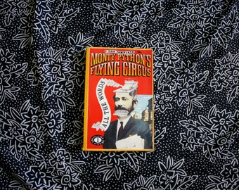 Monty Python's Flying Circus - All The Words Volume One. Monty Python Flying Circus Script Book. 1989 First Edition Trade Paperback Book