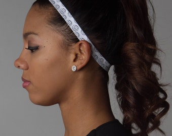 Skinny Headband - Skinny Elastic - VOLLEYBALL