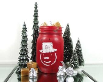 Rustic Christmas Decorations, Candy Dish, Christmas Table Decor, Whimsical Decor, Mason Jar Decor, Christmas Gift Hostess, Cute Home Decor