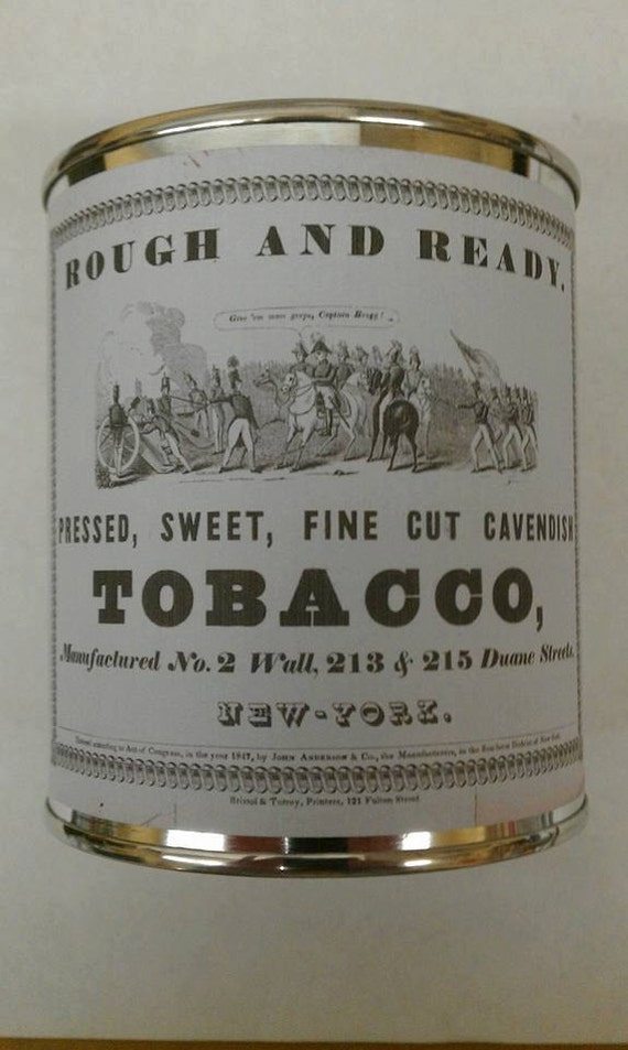 PIPE TOBACCO -  Vintage Label Authentic Pipe Tobacco Wood Wick Candle 16 oz      Free Shipping in United States