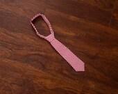 Valentine's Day Red Hearts Baby Boy Newborn Toddler Neck Tie Photo Prop