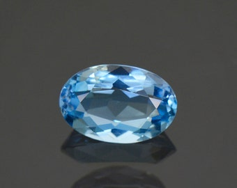 Superb Denim Blue Aquamarine Gemstone from Idaho 1.38 cts.