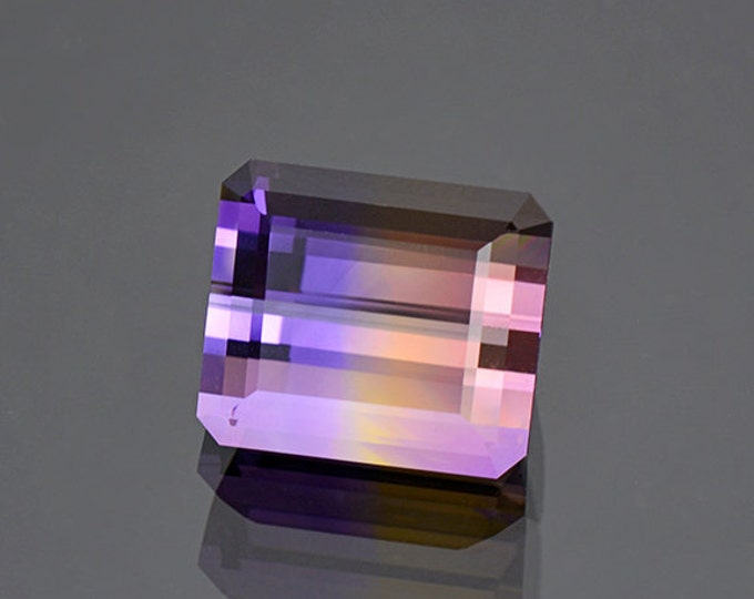 SALE EVENT! Spectacular Bi-Color Ametrine Gemstone from Bolivia 14.50 cts.