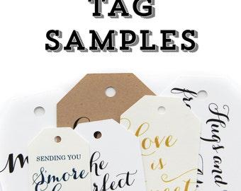Tag Samples - Sample Tags - Sampler Pack