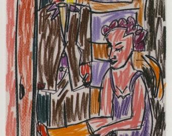 Postcard: Film Noir I (2016) (My Gun Is Quick - 1957)