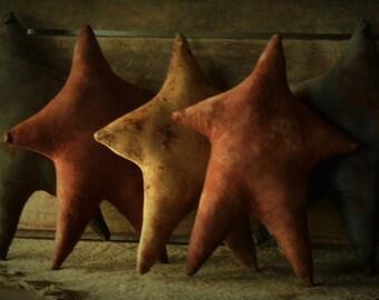 Primitive Grubby Americana Star Bowl Fillers/Tucks