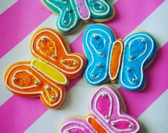 1 Dozen Butterfly Cookies