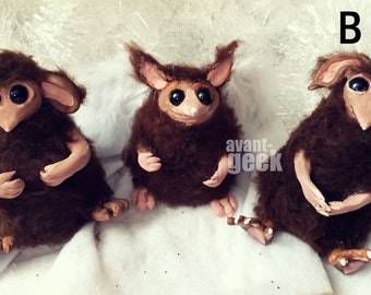 Realistic 'Creepture' Mouse Dolls