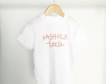 4T - Nashville Little Toddler Tee - Orange