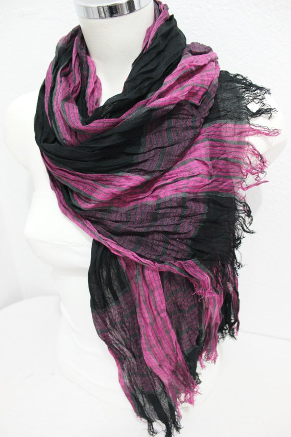 pink scarves ethnic fabric scarves striped scarf