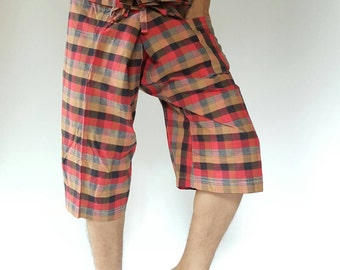 F30048  thai fisherman/yoga are pants free-size: will fit men or woman