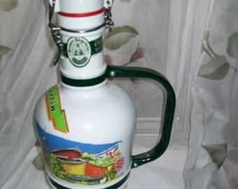 Berliner Burgerbrau Beer Decanter bottle ,collectabe bottles,decanter bottle,collectable bottle,beer bottle,beer decanter,barware,bar bottle