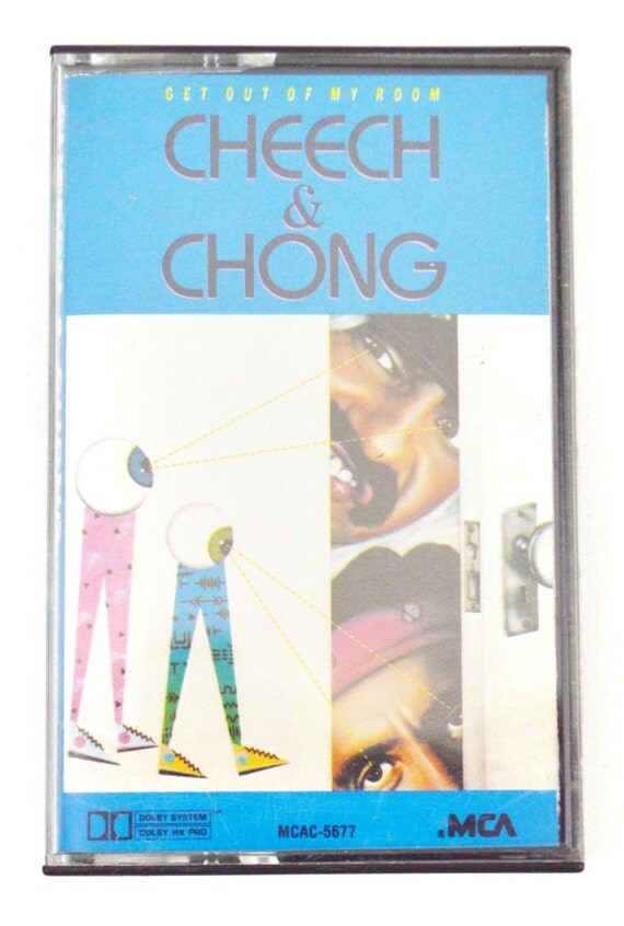 Vintage 80s Cheech & Chong Get Out of My Room Album Cassette Tape