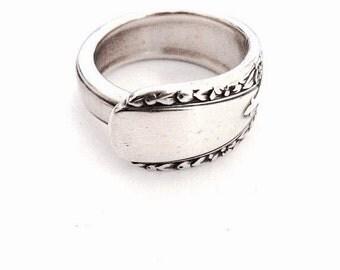 Vintage Silver Spoon Ring - Circa 1938