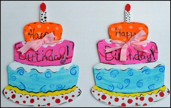Happy Birthday Door Hanger Kids Birthday Decoration Kids