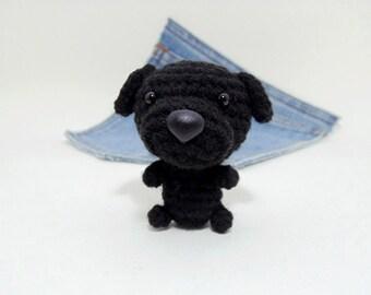 Amigurumi Labrador Retriever, Stuffed Labrador Retriever, Labrador plushie. Stocking stuffer.