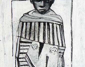 """Original painting Maud Besson - """"Zanzibar"""" 2011"""