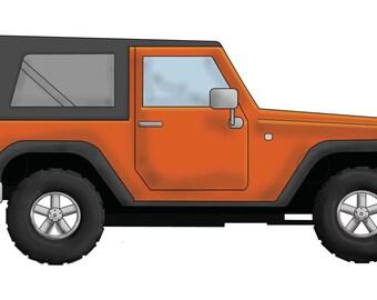 DIY printable- Wearable Jeep