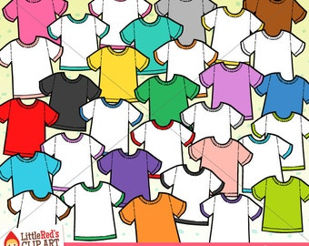 T-Shirt Clip Art and Lineart - personal and commercial use