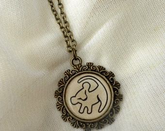 Disney's The Lion King Symbol Necklace