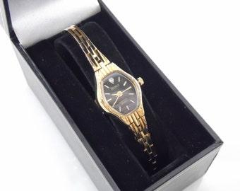 Vintage Womens Benrus Genuine Diamond NOS New Old Stock Watch