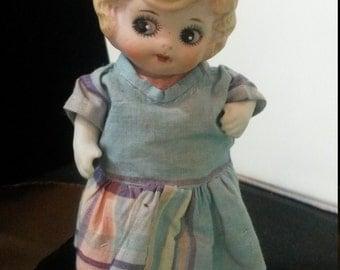 Frozen Charlotte Porcelain doll from 1850-1900's