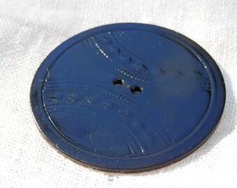 XL Celluloid Vintage Button