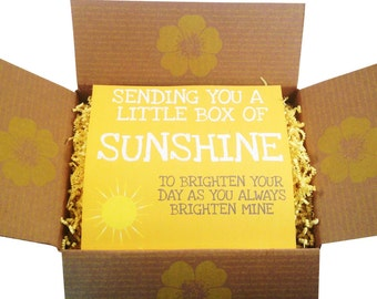Relaxing Gift Basket - Military Wife Anti-Stress Gift, Missing You Gift, Happy Birthday, Box of Sunshine