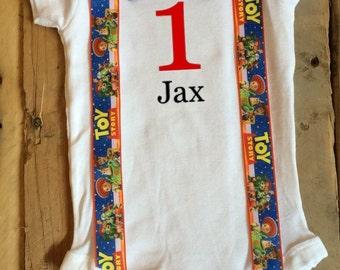 Toy Story Shirt - Toy Story Birthday Shirt - Personalized - Personalized Toy Story - Boys Toy Story Outfit - Toy Story