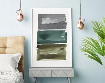 Abstract Watercolor, Abstract Art, Watercolor Painting, Abstract Print, Oversized Art, Grey Wall Art, Minimalist Art, Modern Wall Art, Art