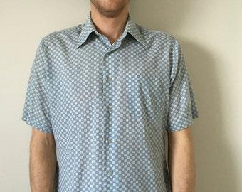Vintage Kingsport Rad Button Up Shirt