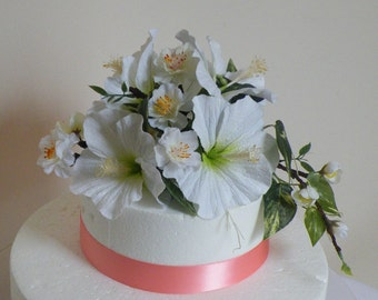 Hibiscus Cake Topper tailored to your design