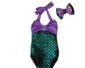 Mermaid Swimsuit One-Piece