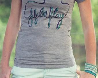 Life on Play Printed Eco Friendly Shirt