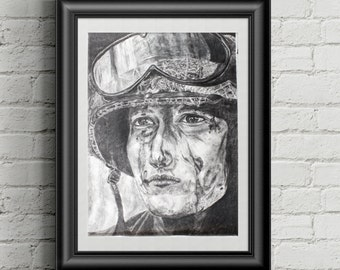 Soldier Drawing Art