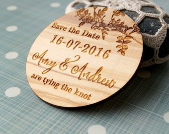 Save the date save the date magnet wedding save the dates