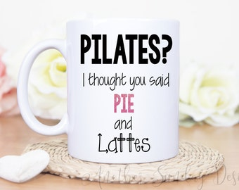 Pilates? I thought you said Pie and Lattes