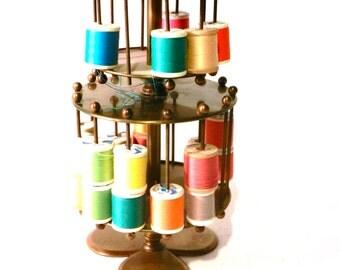 Antique Thread Spool Holder