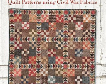 Pattern Book: The Blue and the Gray - Quilt Patterns using Civil War Fabrics by Mary Etherington and Connie Tesene