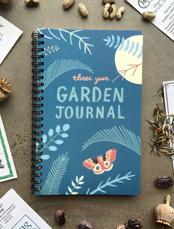 Garden Journal Three Year Daily Planner Gardening Gift for