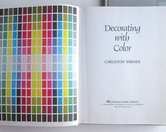Pair of vintage decorating books, 1960s and 1970s interior decoration guides.