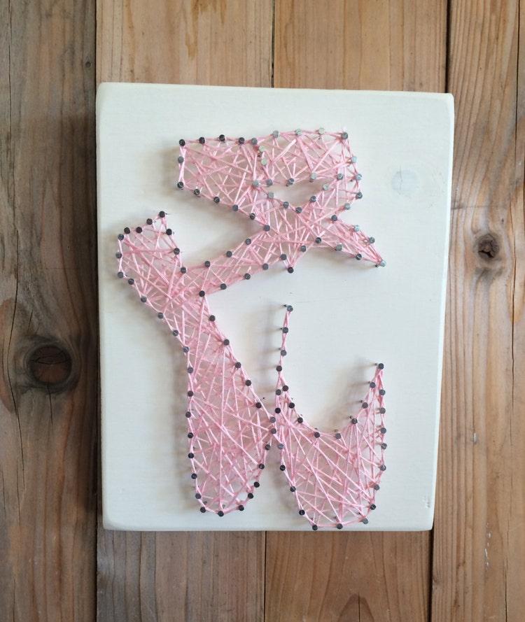 Gifts For Dancer Ballerina String Art Tiny Dancer By Urbanhoot