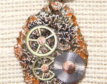 DT1 - Gears pendant