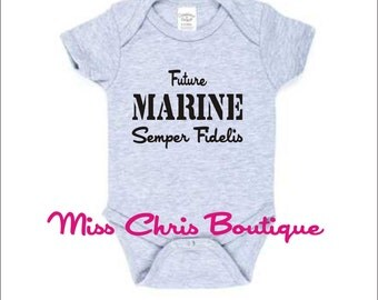 Marines, Funny Baby Onesie, Custom Onesies, Baby Humor, Funny Toddler Shirt, Baby Shower Gift
