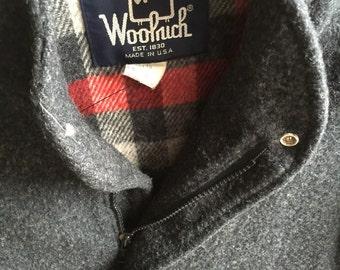 Vintage Woolrich Stadium Jacket
