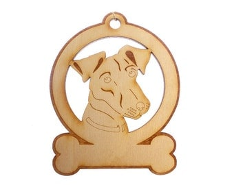 Jack Russell Ornament - Jack Russell Gifts - Jack Russell Art - Jack Russell Lover - Jack Russell Memorial - Personalized Free