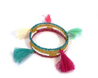 Tassels bracelet