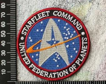 Star Trek Patch Starfleet Command Applique Film Iron on Patch CD11