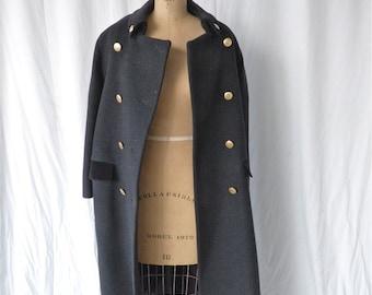 Christian Dior Black Wool Coat